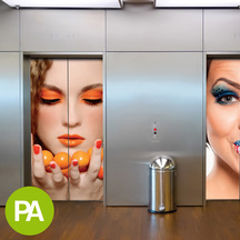 ImagePerfect™ 2525PA White Gloss, Removable