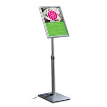 Flexible Menu Board LED - Displayständer mit LED-Beleuchtung.